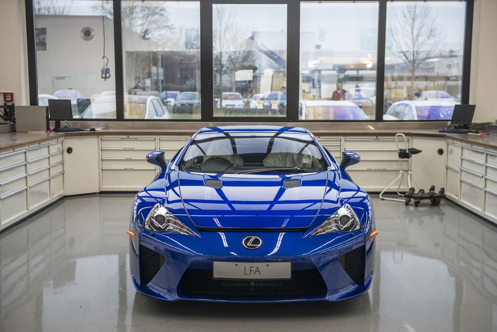 revisão Lexus LFA