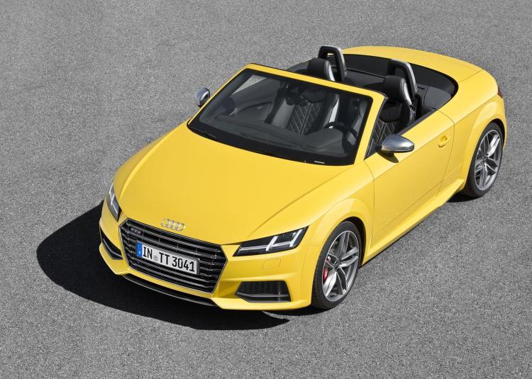 Audi TT Roadster 4