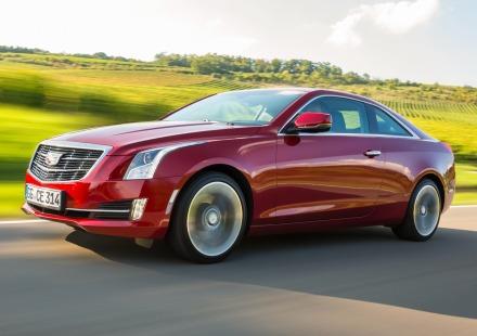 Cadillac ATS Coupe versão EU