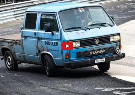 volkwagen T3 nurburgring karussell swiss
