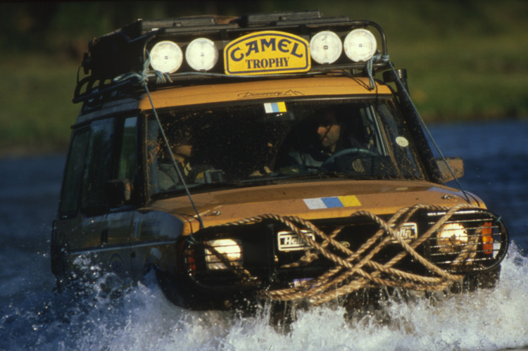 Camel-Trophy Land Rover