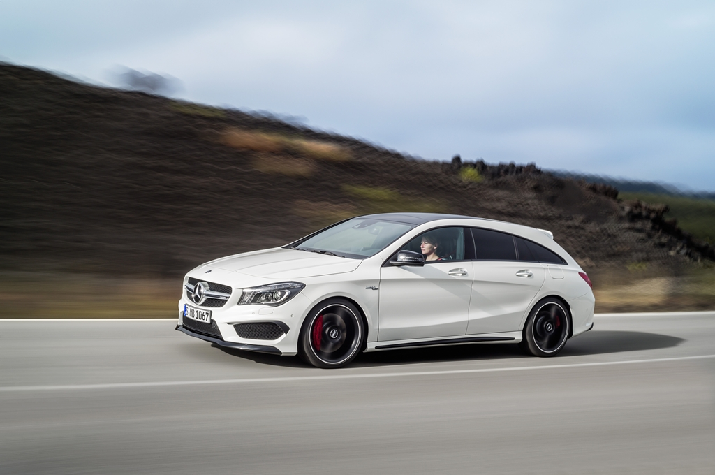 Nova Mercedes Cla Shooting Brake Muito Estilo