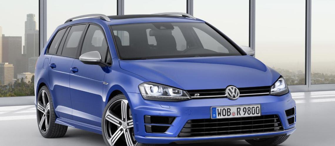 VW Golf R Variant 2015 1