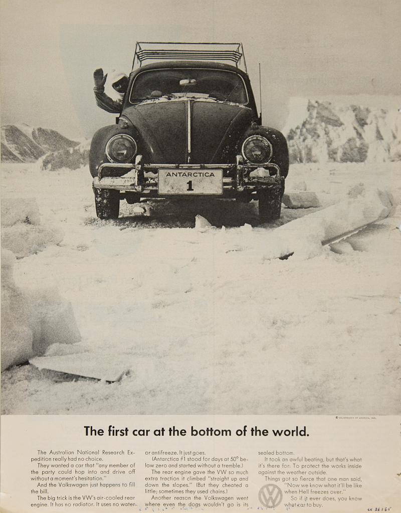 volkswagen beetle antartica 1