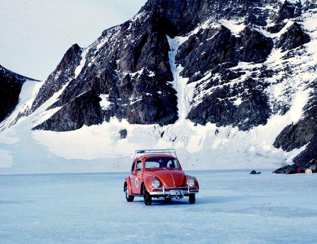 Volkswagen Carocha Antarctica