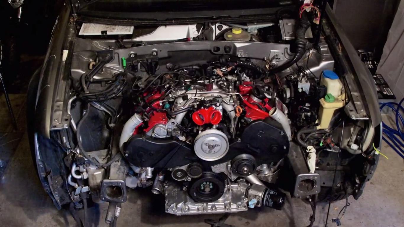 Assistam Ao Recondicionamento De Um Motor V6 Da Audi