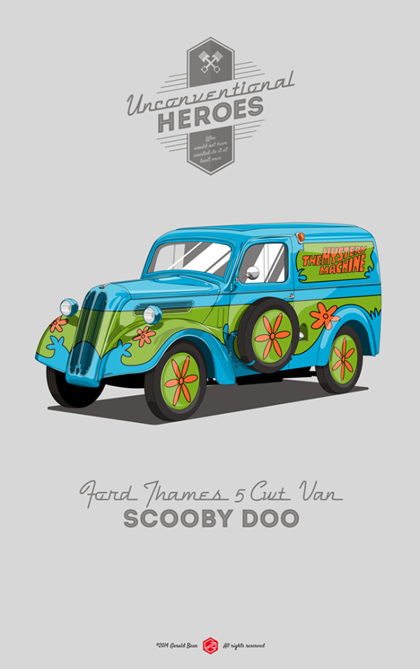 Ford Thames, Scooby Doo