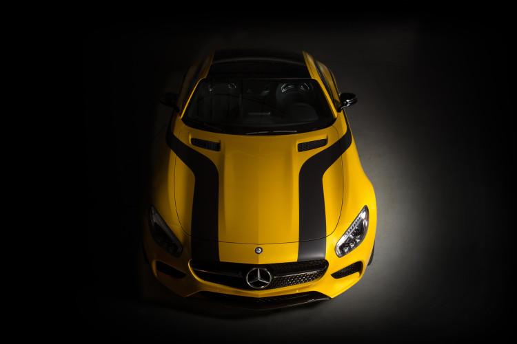 Mercedes-AMG GT S und Cigarette 50 Marauder/ Mercedes-AMG GT S a