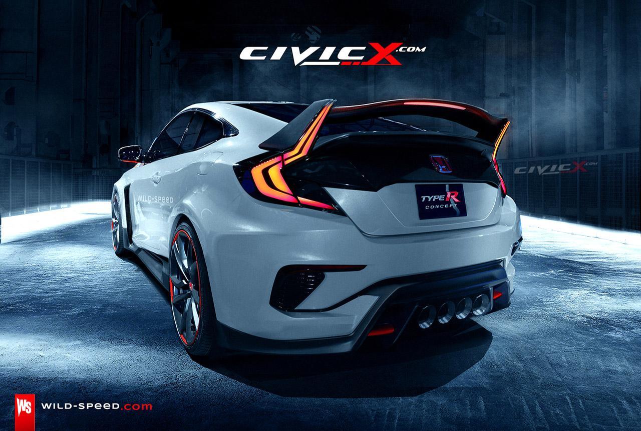 2016 honda civic type r hatchback coupe engine si turbo. Black Bedroom Furniture Sets. Home Design Ideas