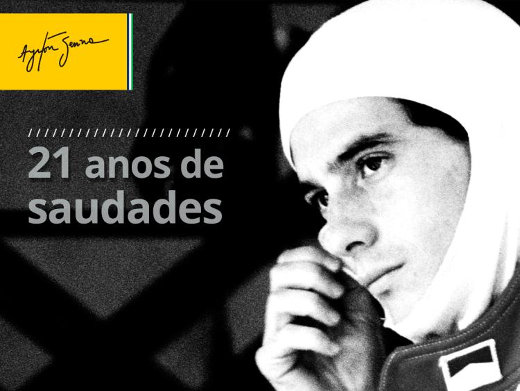 Ayrton Senna 21 anos Saudade