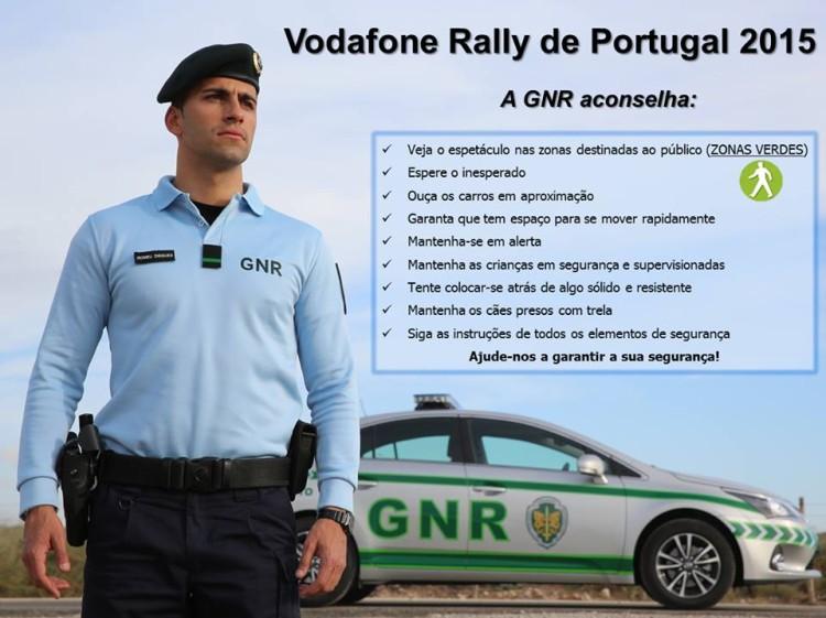 GNR RALI DE PORTUGAL