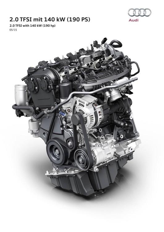 TFSI motor 190cv