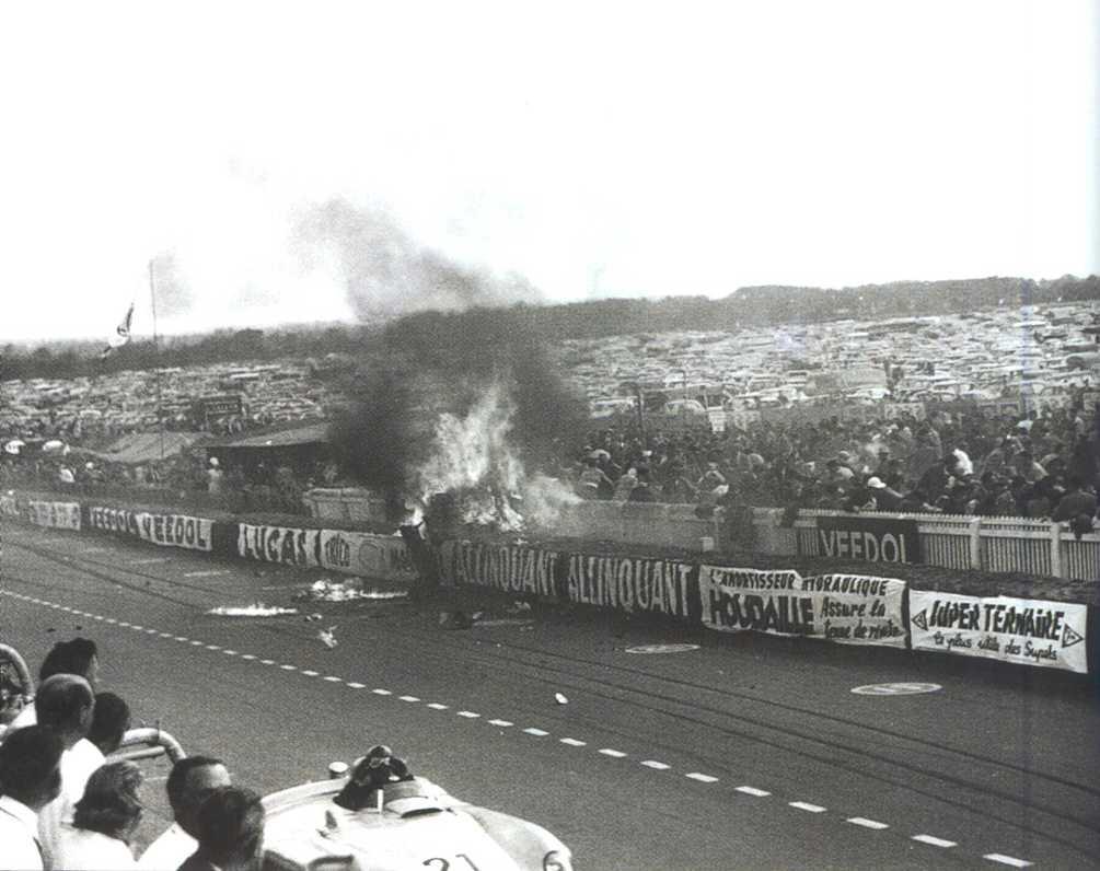 le mans acidente 1955