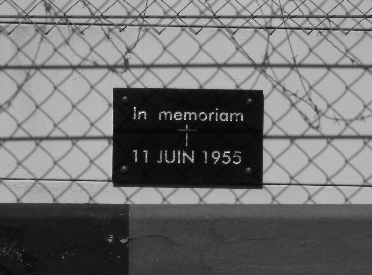 le mans acidente 1955 memorial