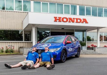 honda Civic tourer 1.6 diesel record 2