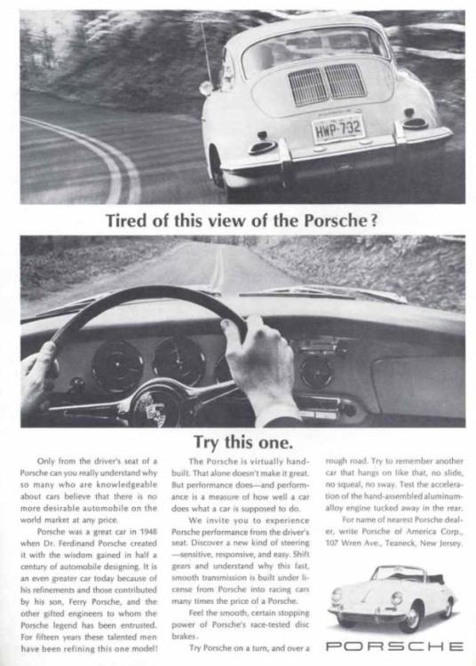 anuncio porsche vintage 17