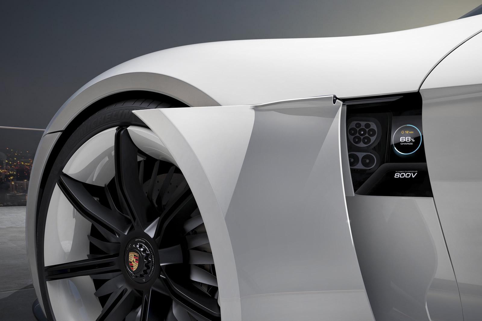 2015 Porsche Mission E detalhe