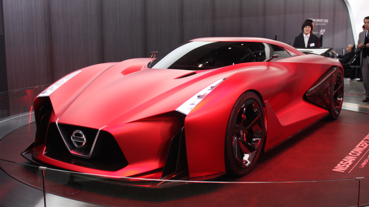 Nissan Concept 2020 Vision brilha em Tóquio