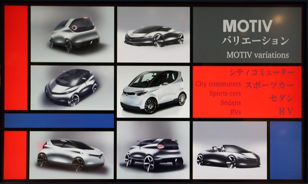 Yamaha Motiv variantes