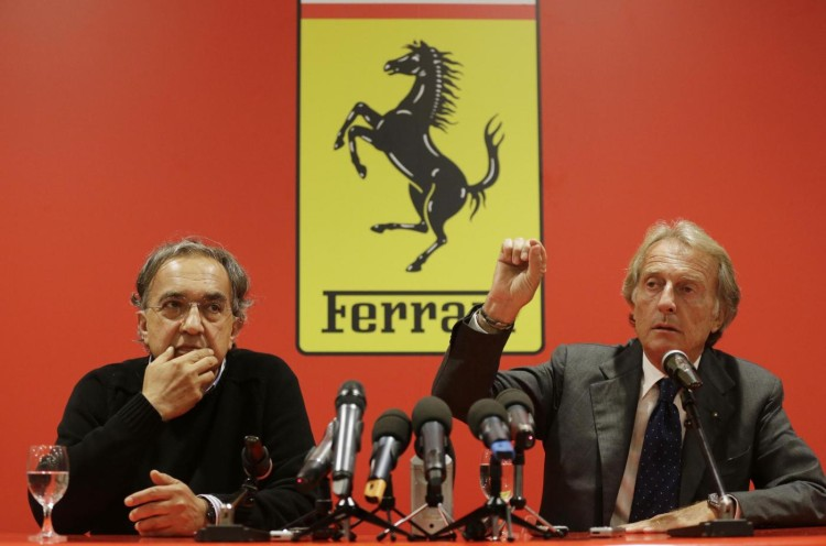 Ferrari, Montezemolo demite-se: Marchionne o novo presidente
