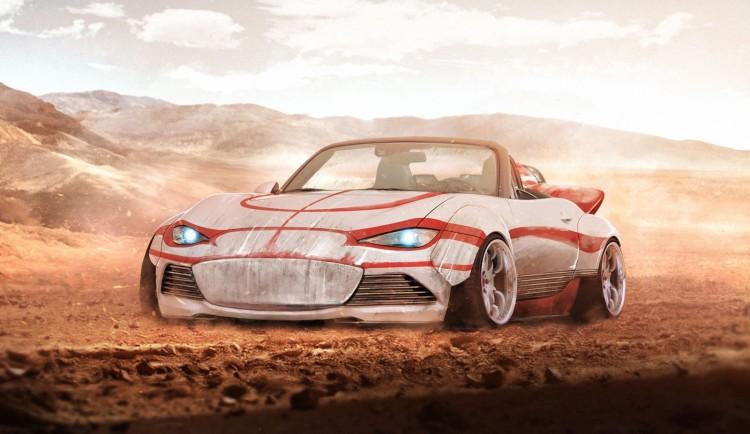 sw Luke Skywalker's Mazda MX-5 Land Speeder edition