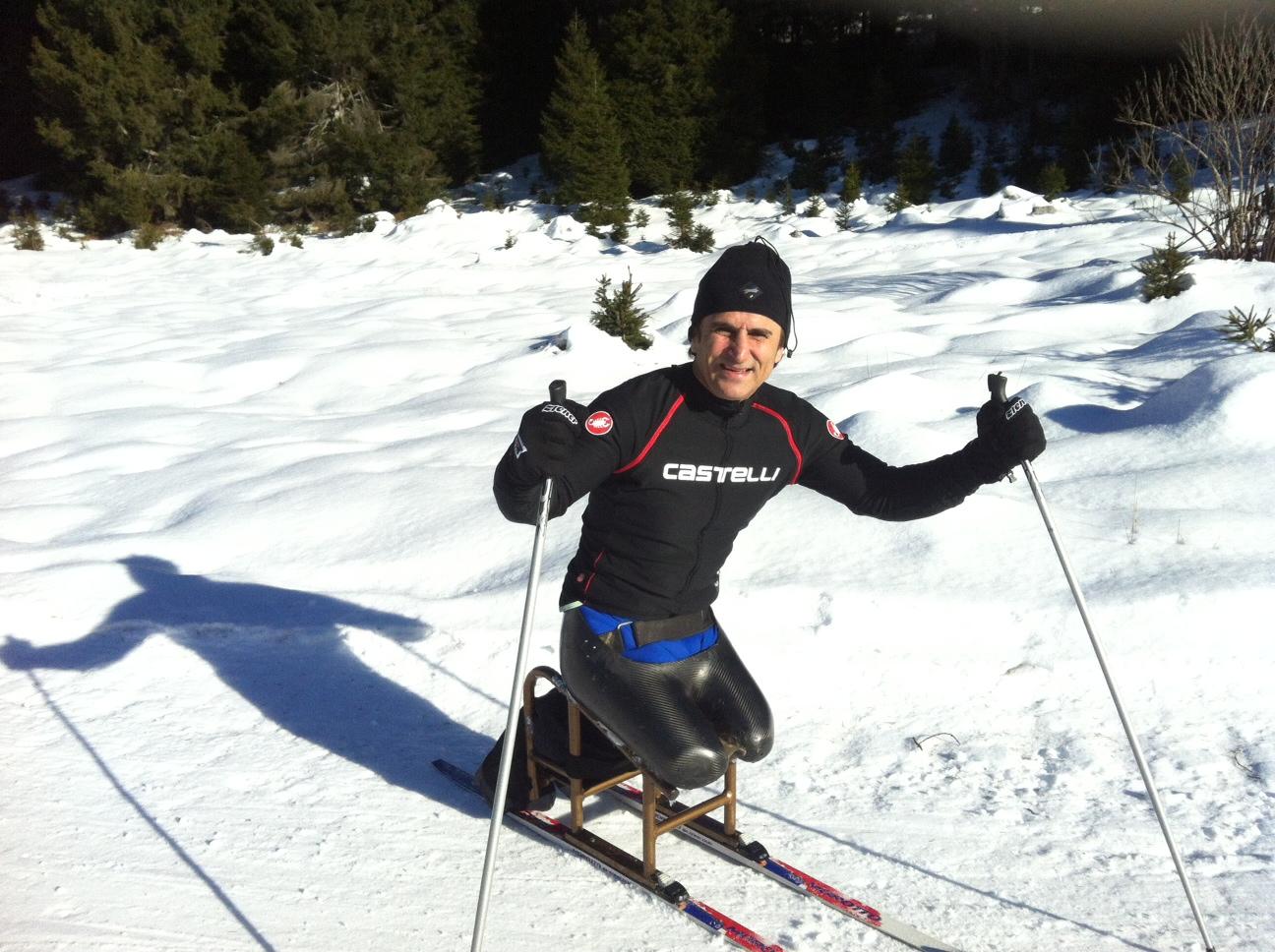 Alex Zanardi ski