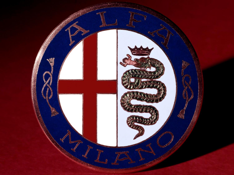 Logótipo da Alfa Roemo