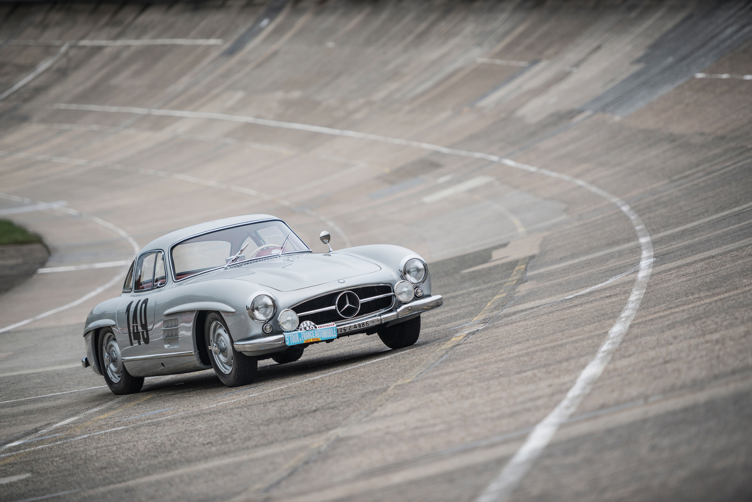 Mercedes-Benz 300SL Gullwing Racer
