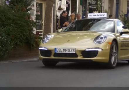 porsche 911 driving test