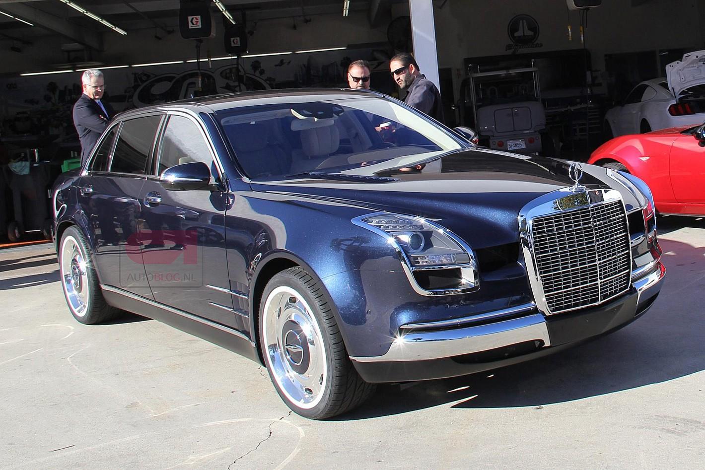"""Royale 600, um Classe S versão """"retro"""""""