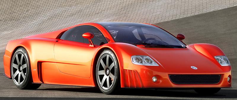 2001 Volkswagen W12 Coupe