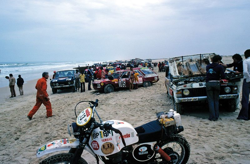 Chegada ao Lago Rosa, Senegal, em 1979