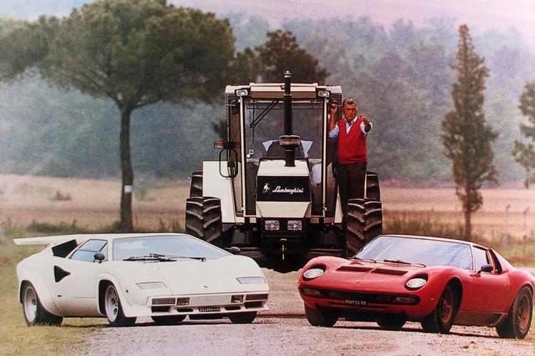 lamborghini tractors and cars