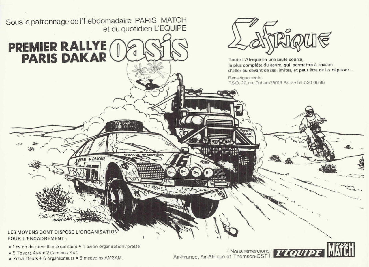 Cartaz Paris-Dakar 1979