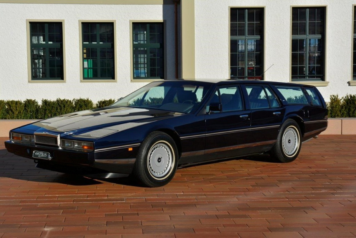 Aston Martin Lagonda Shooting Brake So Para Colecionadores