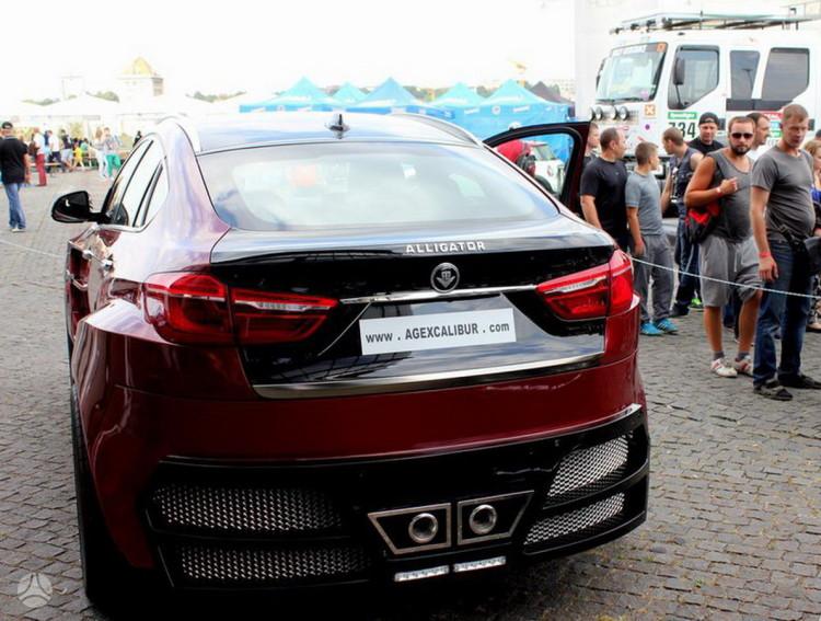 BMW X6 AG Alligator (6)