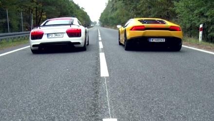 Drag Race TopGear Audi R8 V10 vs Lamborghini Huracan _ 0-100 km_h[(000281)2016-02-02-16-58-42]