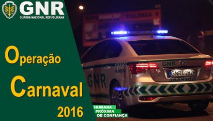 GNR Operação Carnaval 2016