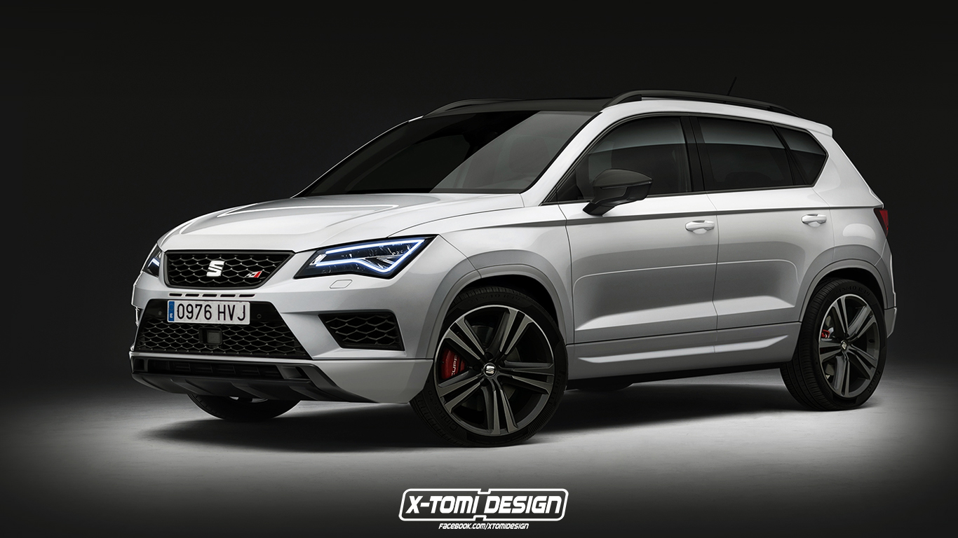seat ateca cupra o suv espanhol em modo hardcore. Black Bedroom Furniture Sets. Home Design Ideas