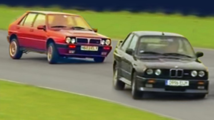 BMW M3 vs Lancia Delta Integrale