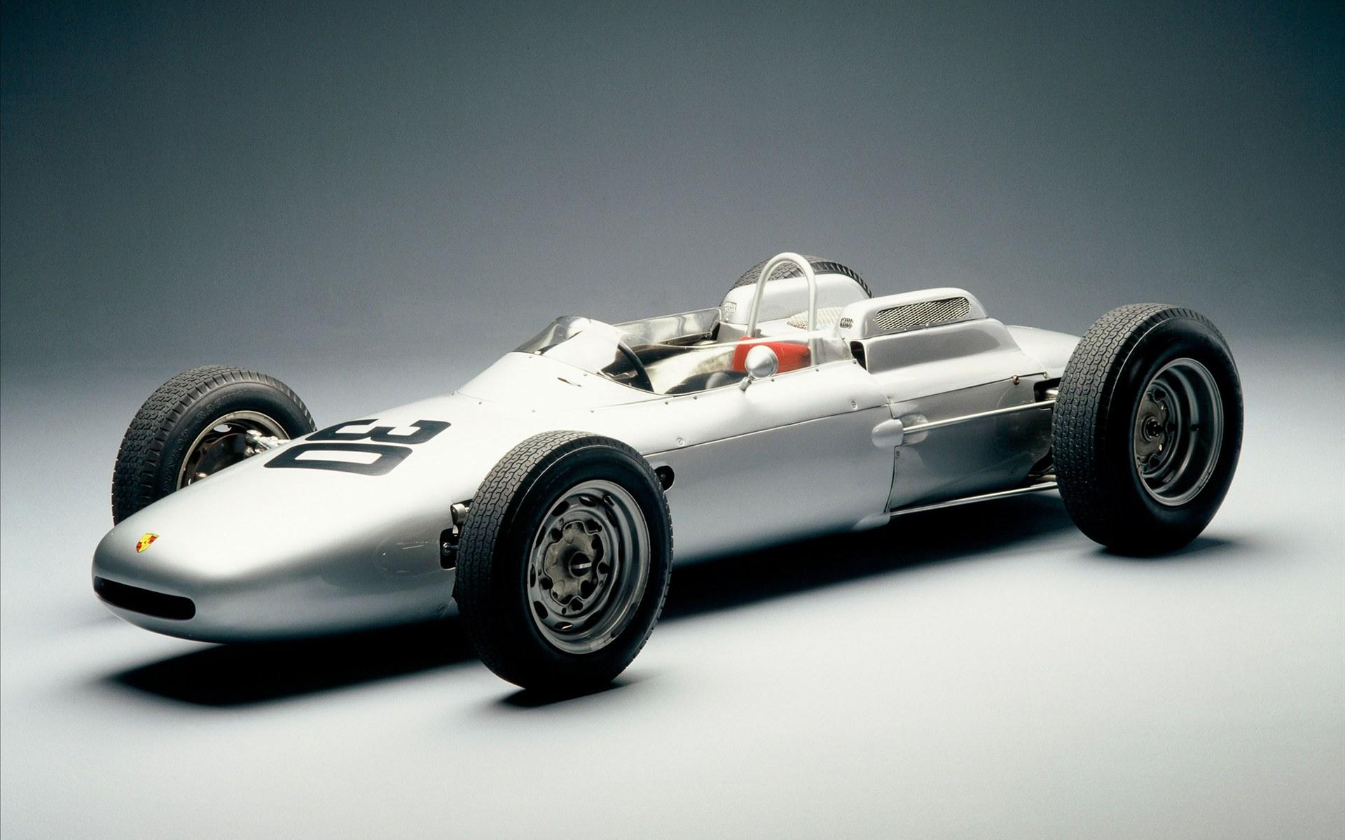 porsche 804 f1 race car 1962