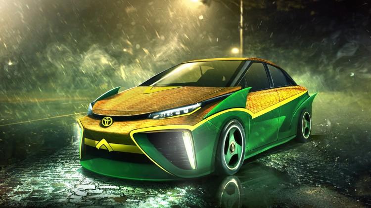 Aquaman - Toyota Mirai