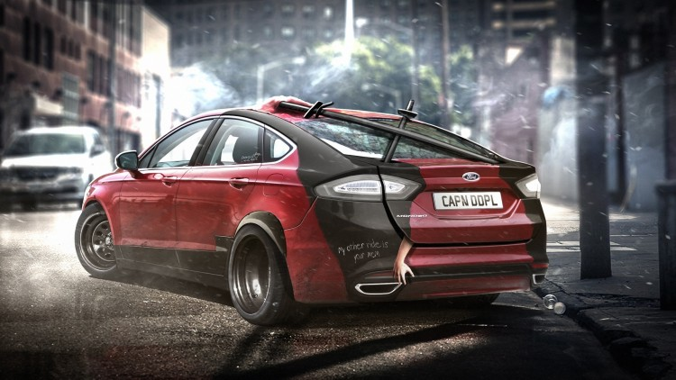 Ford Mondeo - Deadpool