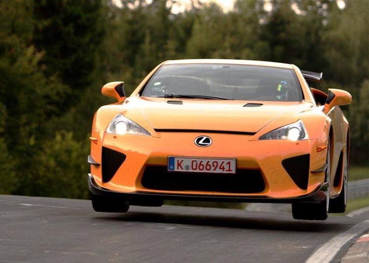 Lexus-LFA-Nurburgring-Edition nurburgring top 10