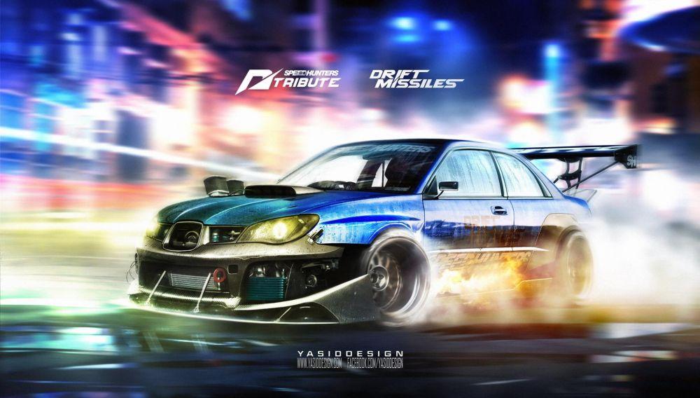 Subaru Impreza STI Hawkeye