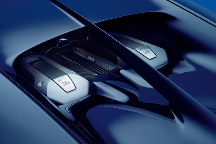Bugatti Chiron motor W16