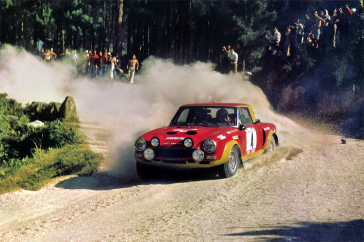 Fiat 124 Spider Abarth Rally 16V Injection