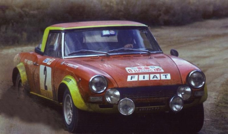 Fiat 124 Spider Abarth Rally