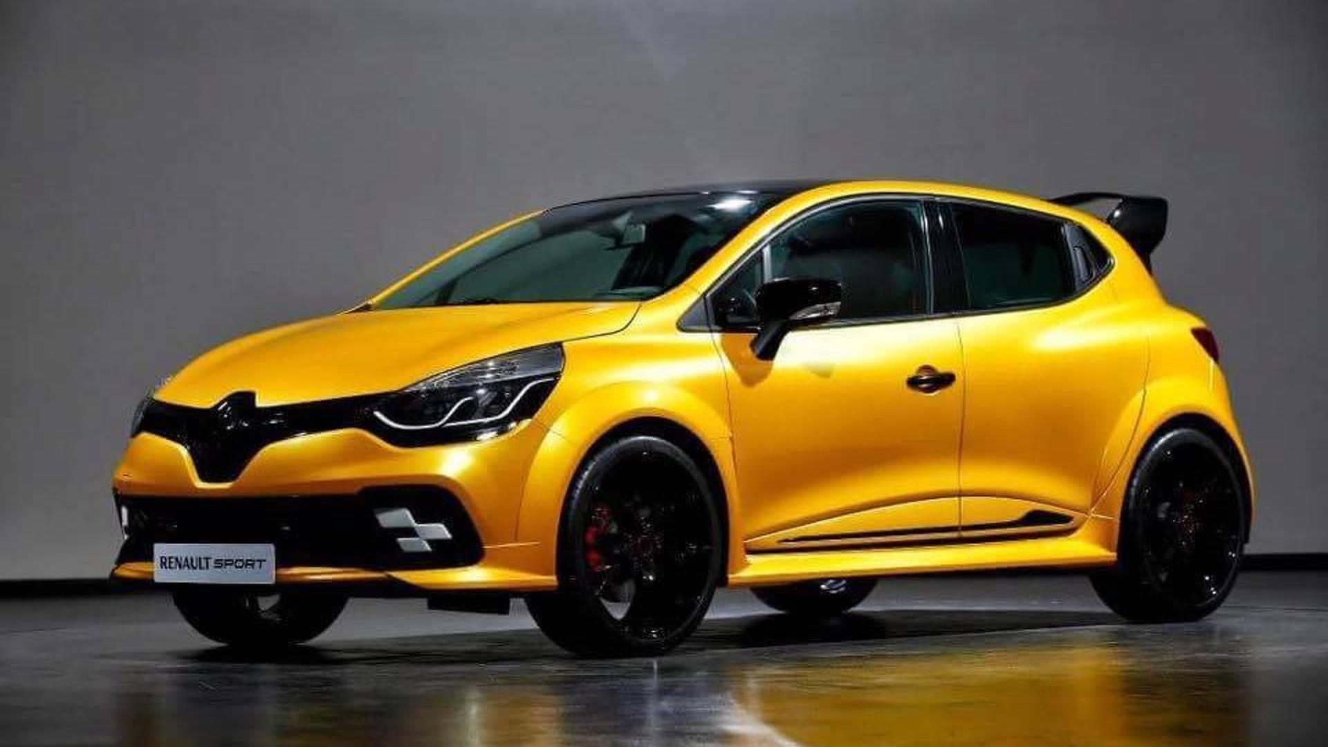 Futuro Renault Clio Rs Tera O Mesmo Motor Do Alpine A110
