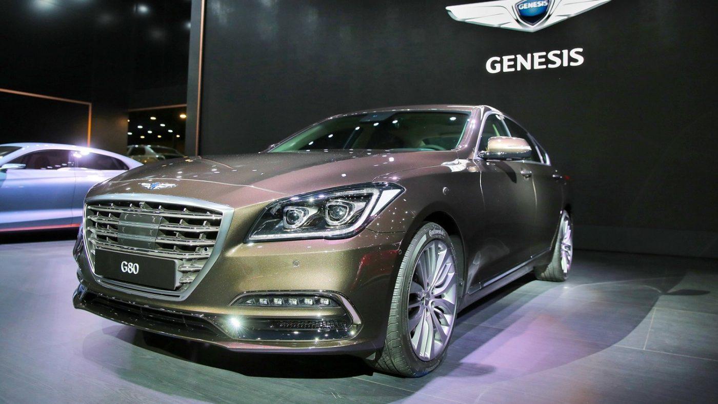 Genesis G80 E G80 Sport Estreiam Se No Salao Automovel De Busan